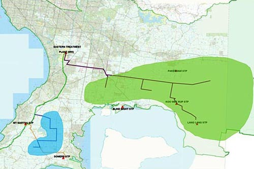 Proposed Bunyip Food Belt