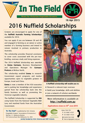 2016 Nuffield Scholarships