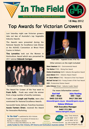 Top Awards for Victorian Growers