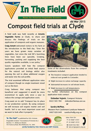 Compost Field Day at Clyde