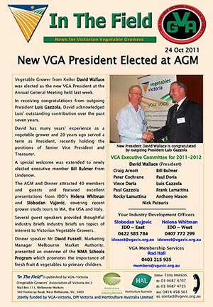 New President elected at AGM