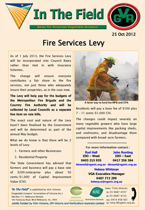 Fire Services Levy
