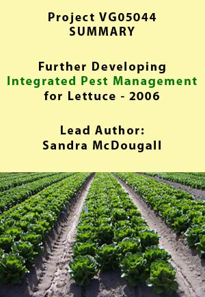IPM Lettuce  - project summary