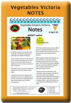 Vegetable Notes