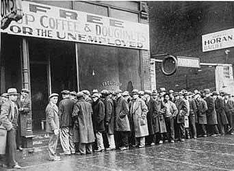 1928 - great depression