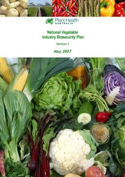 veg biosecurity plan