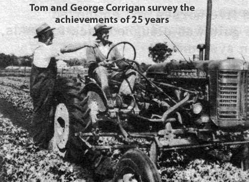 corrigan tractor