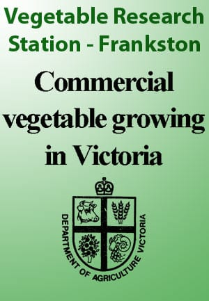 Vegetable Research Station - Frankston