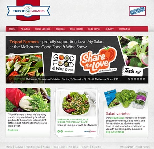 Bacchus Marsh Fresh website
