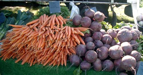 Local vegetable produce