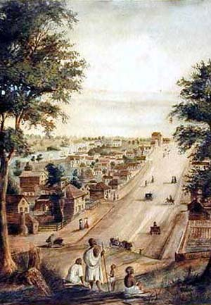 Collins Street 1839
